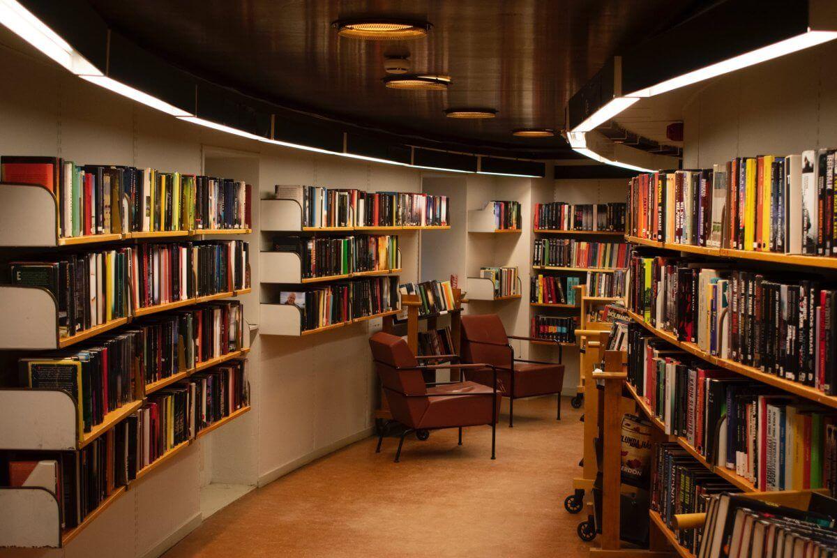 Bibliotheksumzug Bielefeld